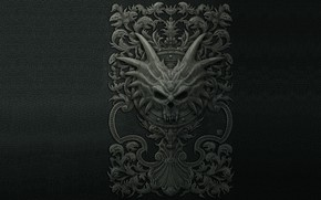 Обои дракон, фэнтези, арт, kerem beyit