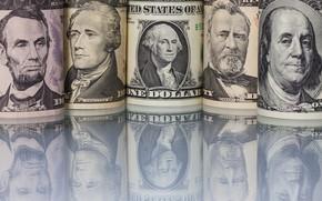 Картинка Benjamin Franklin, George Washington, Abraham Lincoln, Ulysses S. Grant, Alexander Hamilton