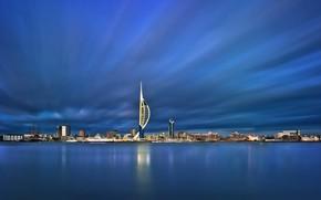 Картинка Англия, гавань, Портсмут, Portsmouth
