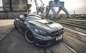 Картинка Mercedes-Benz, Coupe, Prior-Design, S-Class, C217, PD990SC