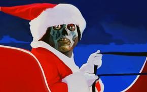 Картинка юмор, Санта Клаус, They Live, Чужие среди нас
