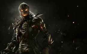 Обои Злодей, Warner Bros. Interactive Entertainment, NetherRealm Studios, Injustice 2, Пугала, Суперзлодей