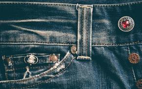 Картинка джинсы, пуговицы, материал