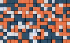 Картинка абстракция, фон, текстура, квадраты