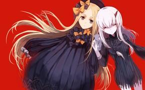 Картинка девочки, аниме, арт, бантики, персонажи, Fate / Grand Order
