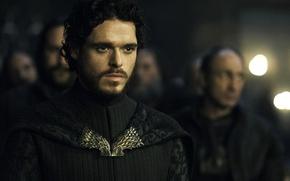 Картинка актер, персонаж, Игра Престолов, Game of Thrones, Ричард Мэдден, Робб Старк