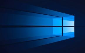 Обои окно, операционная система, компьютер, windows, минимализм