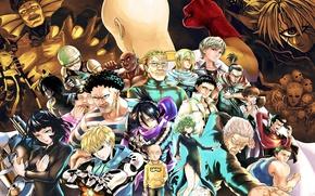 Картинка anime, man, evil, asian, manga, japanese, oriental, asiatic, powerful, strong, muscular, One Punch Man, OPM