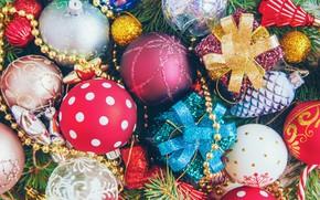 Картинка украшения, шары, игрушки, Новый Год, Рождество, happy, Christmas, vintage, balls, New Year, Merry Christmas, Xmas, …