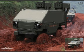 Картинка оружие, транспорт, техника, бездорожье, TZ6 - KARAKURT