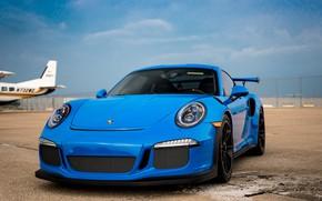 Обои GT3RS, Blue, Porsche, 911