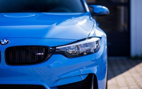 Картинка BMW, Light, Blue, F82, Sight, LED