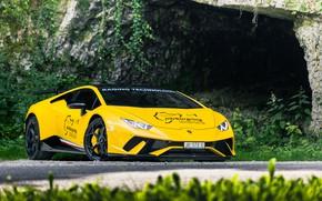 Картинка Lamborghini, time, Huracan, nurburg ring