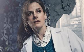 Картинка сериал, BBC, Sherlock, Шерлок, 2017, Louise Brealey, Molly Hooper, британская актриса и писательница, Луиза Брили, …
