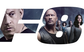Обои The Fate of the Furious, The Fast and the Furious 8, Letty Ortiz, Michelle Rodriguez, ...