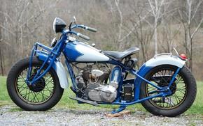 Обои 1934, motorcycle, Indian, bike