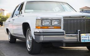 Картинка ретро, Cadillac, передок