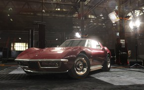 Картинка The Crew, Realistic Car Modeling, CHEVROLET CORVETTE