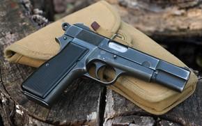 Обои оружие, Inglis, макро, пистолет