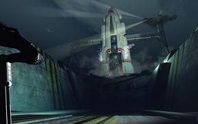 Картинка ракета, площадка, Ferry, rocket elite startblokken