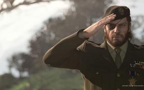Картинка солдат, кладбище, форма, snake, берет, konami, честь, Naked Snake, Metal Gear Solid 3: Snake Eater, …