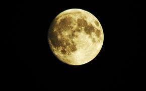 Картинка ночь, Луна, полнолуние, зум, powerShotSX550i, суперзум