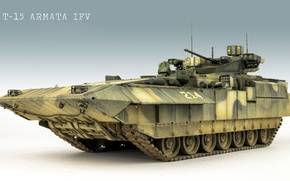 Обои модель, БМП, Армата, T-15, T-15 Армата, боевая машина пехоты