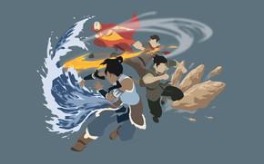 Картинка Avatar, anime, manga, japonese, Avatar: The Legend of Korra