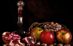 Картинка яблоки, фрукты, натюрморт