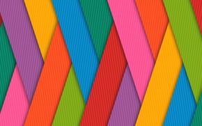 Обои радуга, краски, объем, полоса, решетка, линии