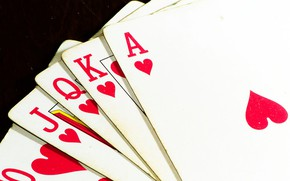 Картинка Royal Flush, Poker, Playing Cards