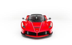 Картинка Ferrari, Front, White, Scuderia, RED, LaFerrari, Backgraund