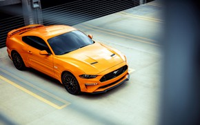 Обои Mustang GT, 2018, Fastback Sports, Ford