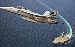 Обои Super Hornet, McDonnell Douglas, F/A-18F, истребитель