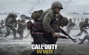 Картинка Game, Activision, Call of Duty: WWII, TheVideoGamegallery.com