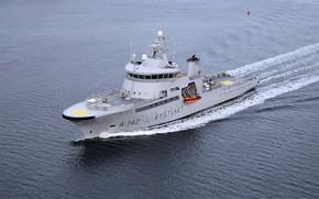 Картинка море, береговая охрана, пограничный корабль