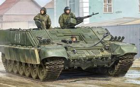 Обои art, российская, БМО-Т, Боевая машина огнеметчиков-тяжелая, Heavy flamethrower personnel carrier, russian, рисунок