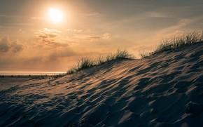 Картинка Солнце, Небо, Пустыня
