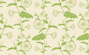 Картинка vector, flower, wallpapers, background, pattern, elegant, seamless, textile