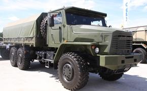 Обои грузовик, Урал, 6x6, Торнадо-У, 63704-0010