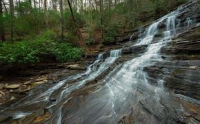 Картинка пейзаж, природа, красота, поток
