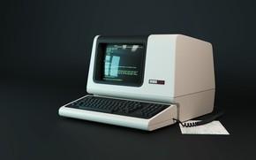 Обои computer, linux, эвм