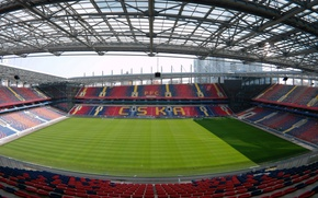 Картинка Стадион, футбольный стадион, ЦСКА, CSKA, ВЭБ-арена, арена Цска