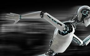 Картинка Robot, speed, running