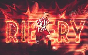 Картинка wallpaper, sport, football, player, FC Bayern Munchen, Frank Ribery