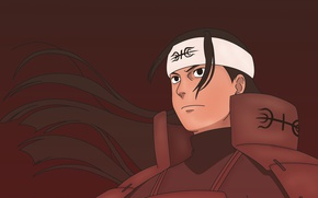 Картинка Naruto, armor, young, man, ninja, shinobi, Naruto Shippuden, powerful, strong, Hashirama Senju, Ashura, by indiandwarf