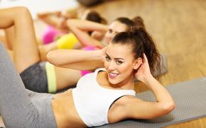 Обои workout, abs, fitness