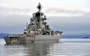 Картинка Россия, Петр Великий, Атомный крейсер