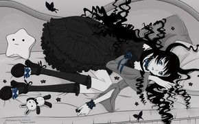 Картинка девушка, аниме, лежит, xxxholic