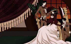 Картинка аниме, персонажи, xxxHolic, Триплексоголик
